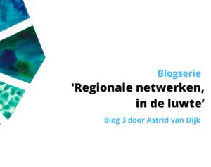 Blogserie Regionale netwerken en Corona - Blog 3: In de luwte?