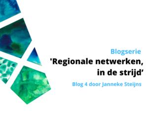 Blogserie Regionale netwerken en Corona - Blog 4: In de strijd